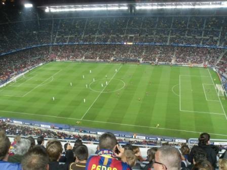 Spanien - Fussballcamp - Barca gegen Kopenhagen