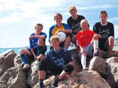 Spanien - Fussballcamp - Gruppenfoto